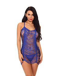 cheap -Women's Ultra Sexy Nightwear - Tassel Hollow Out, Solid