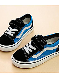 cheap -Girls' Shoes Canvas Winter Fall Comfort Sneakers for Casual Black/Yellow Black/Blue Black/Red Black