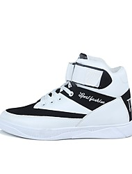 cheap -Men's Shoes PU Fall / Winter Comfort Athletic Shoes Basketball Shoes White / Black