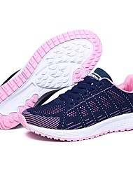 cheap -Women's Shoes Knit Breathable Mesh Spring Fall Comfort Light Soles Athletic Shoes Running Shoes Low Heel Round Toe for Athletic Casual