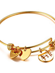 cheap -Women's Bangles Gold Plated Jewelry For Wedding Daily