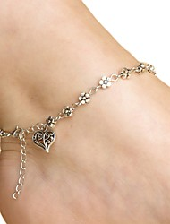 cheap -Alloy Foot Accent Women's Casual Vacation Gold Silver