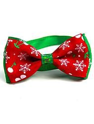 preiswerte -Katze Hund Halsbänder Krawatte/Fliege Tragbar Klappbar Einstellbare Flexible Einfarbig Lolita Stoff Rot