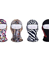 cheap -Balaclava Winter Autumn Cycling 3D Soft Wind Proof Stretchy Sunscreen Breathability Camping / Hiking Ski / Snowboard Bike/Cycling Travel
