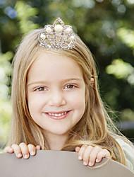 cheap -Imitation Pearl Rhinestone Tiaras Hair Combs with Imitation Pearl 1pc Wedding Party / Evening Headpiece