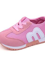 economico -Da ragazza Scarpe Tulle Primavera Autunno Comoda Sneakers Footing Lacci per Casual Nero Rosso Blu Rosa