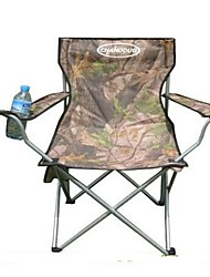 abordables -Sille plegable para camping Doblez Aleación de Aluminio Tela Oxford para Camping