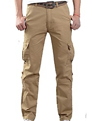 cheap -Men's Hiking Cargo Pants Outdoor Wearable Fitness Cross Country Back Country Winter Pants / Trousers Outdoor Exercise Multisport