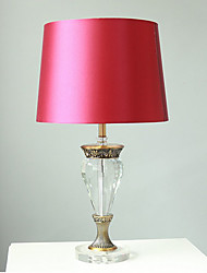 preiswerte -Moonlight Kristall Tischleuchte Kristall An-/Aus-Schalter Netzstecker 220v Rot