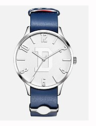 cheap -Men's Kid's Fashion Watch Dress Watch Wrist watch Swiss Quartz Chronograph Water Resistant / Water Proof Casual Watch Genuine Leather Band