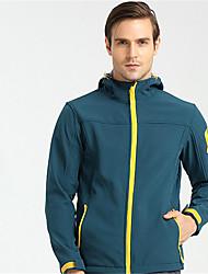 cheap -Men's Women's Hiking Jacket Outdoor Winter Windproof Waterproof Zipper Wearable Softness Jacket Single Slider Running/Jogging Mountain