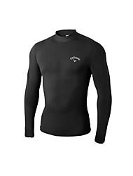 economico -Per uomo Manica lunga Golf Abbigliamento protezione solare T-shirt Felpa Traspirabilità Golf