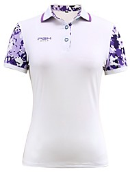 cheap -Women's Short Sleeves Golf T-shirt Top Trainer Breathability Golf