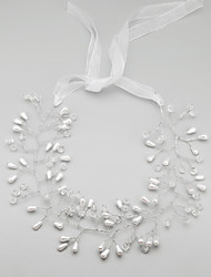 cheap -Alloy Headbands with Faux Pearl 1pc Wedding Special Occasion Birthday Party / Evening Headpiece