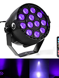 Недорогие -U'King Светодиодные театральные лампы DMX 512 Ведущее устройство Активация звуком Дистанционное управление 12 для На открытом воздухе