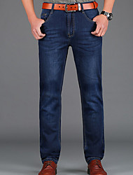 cheap -Men's Simple Chinos Jeans Pants - Solid Colored