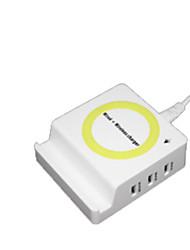 economico -Caricatore senza fili Caricatore del telefono del telefono USB Caricatore senza fili Qi 1 porta USB 1A AC 220V iPhone X iPhone 8 Plus