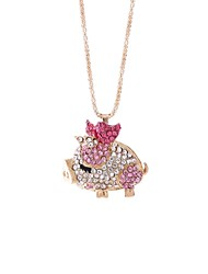 cheap -Women's Rhinestone Pendant Necklace Chain Necklace - Sweet Korean Pig Irregular Necklace For Daily Carnival
