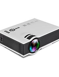 """abordables -UNIC UC40 LCD Vidéoprojecteur de Cinéma LED Projecteur 800lm Soutien 1080P (1920x1080) 34''-130"""" Écran / WVGA (800x480) / ±15°"""