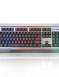 Ajazz-Ak27 Mechanical Warrior Keyboard Lol Internet Cafe Keyboard Backlight Wired Metal Lighting Game Keyboard Usb