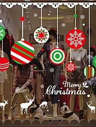 Natal Adesivos de Parede Autocolantes de Aviões para Parede Autocolantes de Parede Decorativos,Vinil Decoração para casa Decalque Vidro /