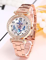 Недорогие -Жен. Наручные часы Модные часы Повседневные часы Китайский Кварцевый Повседневные часы сплав Группа На каждый день Цветной Elegant