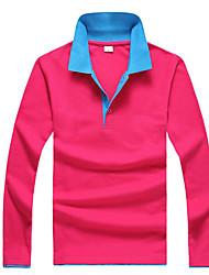 economico -T-shirt Da uomo Casual Vintage Con stampe Colletto Cotone Manica lunga