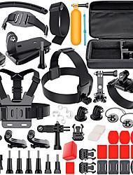abordables -Caméra d'action / Caméra sport Extérieur Anti Rayure Antichoc Pour Caméra d'action Gopro 6 Gopro 5 Xiaomi Camera Gopro 4 Silver Gopro 4