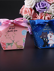 cheap -Other Card Paper Favor Holder with Ribbons Favor Boxes - 50