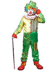 economico -Burlesque Pagliaccio Circo Costumi Cosplay Vestito da Serata Elegante Per uomo Per donna Carnevale Feste / vacanze Costumi Halloween
