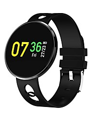 cheap -Multifunction Watch / Smartwatch YY- CF006H for Android 4.4 / iOS Calories Burned / Pedometers / Exercise Record Pulse Tracker /