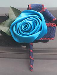 Недорогие -Свадебные цветы Бутоньерки Свадьба Для праздника / вечеринки Satin Около 2 см