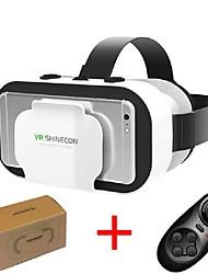 baratos -vr shinecon 5.0 óculos realidade virtual x caixa óculos 3D para 4.7 - telefone de 6,0 polegadas com controlador