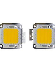 Недорогие -2шт 2400 LED чип Латунь Аксессуары для ламп 30W