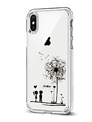 Θήκη Za Apple iPhone X iPhone 8 Uzorak Kućište Maslačak Mekano TPU za iPhone X iPhone 8 Plus iPhone 8 iPhone 7 Plus iPhone 7 iPhone 6s