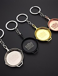 cheap -Key Chain Weapon Chrome Unisex Gift 1pcs