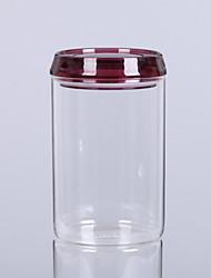 baratos -Vidro Fácil Uso Armazenamento de alimentos 1pç Organização de cozinha