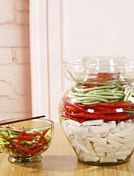 baratos -Vidro Gadget de Cozinha Criativa Armazenamento de alimentos 1pç Organização de cozinha