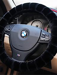 baratos -Capas para Volante Felpudo 38cm Vermelho / Bege / Cinzento For Volkswagen Bora / Tiguan / Jetta Todos os Anos
