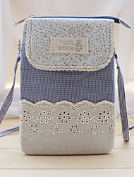cheap -Women Bags Linen Cotton Shoulder Bag Embroidery Zipper for Casual All Season Brown Red Green Blue