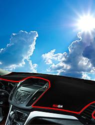 abordables -Automobile Matrice de tableau de bord Tapis Intérieur de Voiture Pour Ford Toutes les Années Kuga