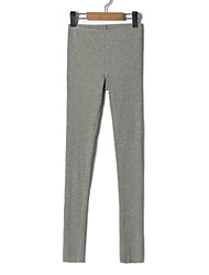 cheap -Women's Simple Slim Pants - Solid Colored