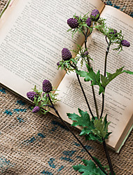 Недорогие -Искусственные Цветы 1 Филиал Пастораль Стиль Фрукты Букеты на стол