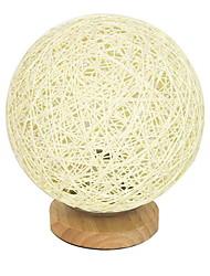 baratos -Moderna Decorativa Luminária de Mesa Para Sala de Estar Madeira/Bambu Azul Branco Amarelo Escuro Rosa claro Limão