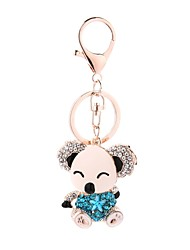 cheap -Keychain Jewelry Purple Red Light Blue Bear Alloy Casual Cartoon Gift Daily Women's
