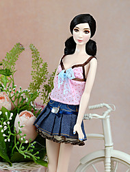 cheap -For Barbie Doll For Girl's Doll Toy