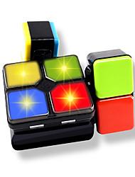 Недорогие -Кубик Infinity Cube Товары для офиса Стресс и тревога помощи Места Хром Классический Куски Мальчики Детские Взрослые Подростки Подарок