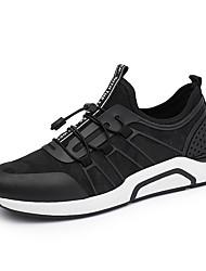economico -Per uomo Scarpe Maglia traspirante A rete Seta PU (Poliuretano) Primavera Autunno Comoda Suole leggere scarpe da ginnastica Corsa Footing