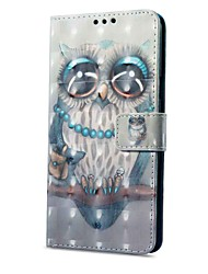 cheap -Case For Xiaomi Redmi Note 5A Redmi Note 4X Card Holder Wallet with Stand Flip Magnetic Pattern Full Body Owl Hard PU Leather for Xiaomi