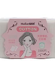 abordables -1080 pcs Coton pour Maquillage Éponge Carré Visage Aucune Maquillage Quotidien